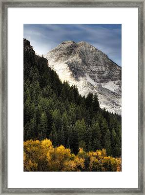 Mount Timpanogos 1 Framed Print by Douglas Pulsipher