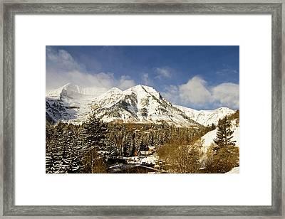 Mount Timpanogos Framed Print by Scott Pellegrin