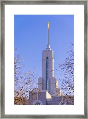 Mount Timpanogos Spire Framed Print