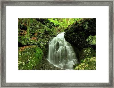 Mount Toby Roaring Falls Framed Print