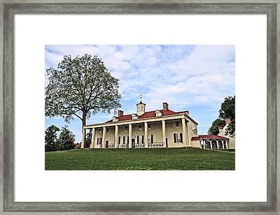 Mount Vernon Framed Print