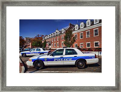 Mount Vernon Police Department Framed Print