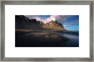 Mount Vestrahorn Framed Print by Tor-Ivar Naess