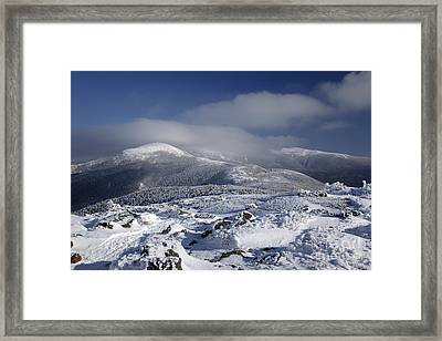 Mount Washington - New Hampshire Usa Framed Print