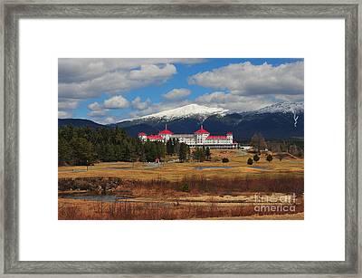 Mount Washington Grand Hotel Framed Print
