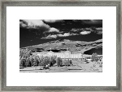 Mount Washington Hotel 1078 Framed Print