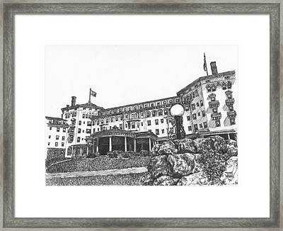 Mount Washington Hotel Number Four Framed Print
