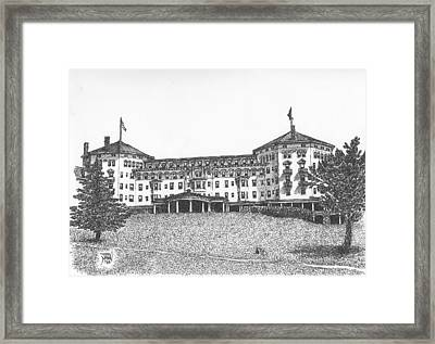 Mount Washington Hotel Number Three Framed Print