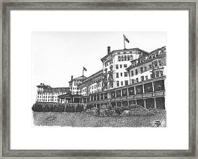 Mount Washington Hotel Number Two Framed Print