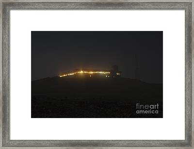 Mount Washington New Hampshire - Sherman Adams Building  Framed Print by Erin Paul Donovan