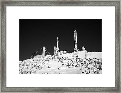 Mount Washington State Park - White Mountains New Hampshire Usa Framed Print by Erin Paul Donovan