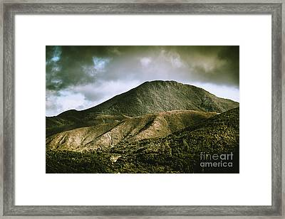 Mount Zeehan Tasmania Framed Print by Jorgo Photography - Wall Art Gallery