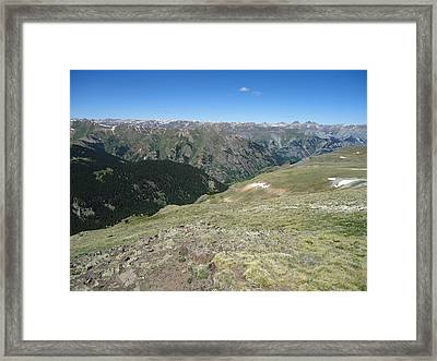 Colorado Mountain 11 Framed Print by Bruce Miller