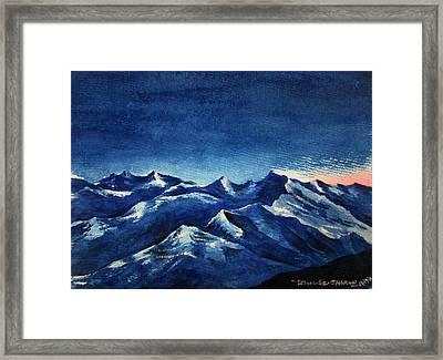 Mountain-4 Framed Print