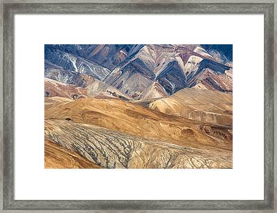 Mountain Abstract 4 Framed Print