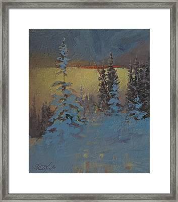 Mountain Awakening Framed Print