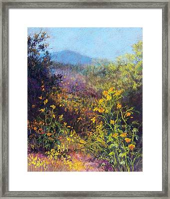 Mountain Beauty Framed Print by Candy Mayer