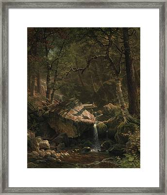 Mountain Brook Framed Print