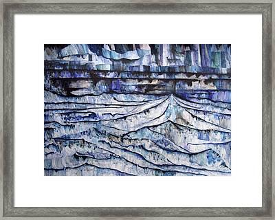 Mountain Chain Framed Print