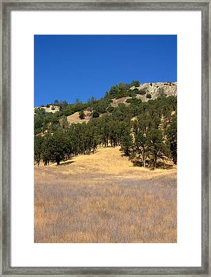 Mountain Colors Framed Print by Brad Scott