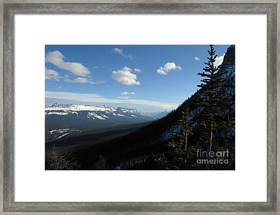 Mountain Corridor Framed Print by Greg Hammond