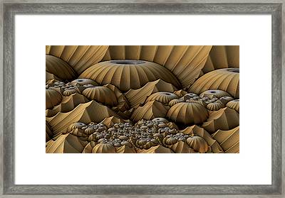 Mountain Domes Framed Print