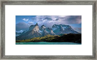 Mountain Dream Framed Print by Andrew Matwijec