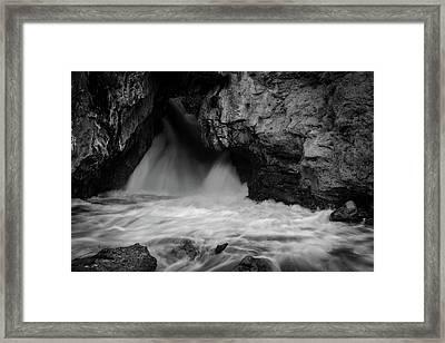 Mountain Falls Framed Print by Michael Osborne