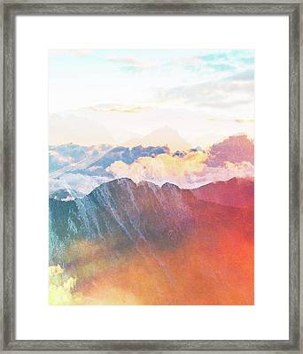 Mountain Glory Framed Print