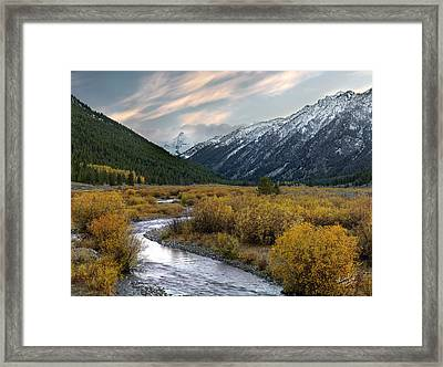 Mountain Grandeur Framed Print