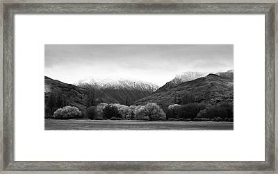 Mountain Grandeur Framed Print by Odille Esmonde-Morgan