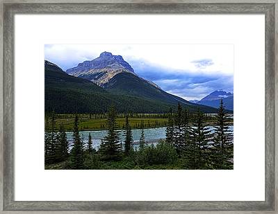 Mountain High Framed Print