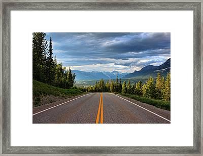 Mountain Highway Framed Print by Matt Dobson