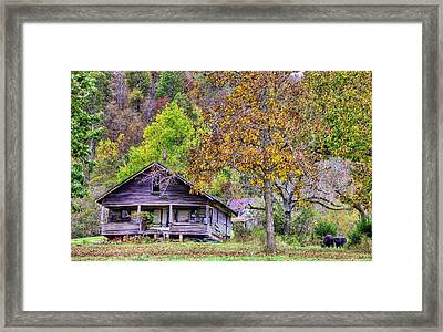 Mountain Home Arkansas Framed Print
