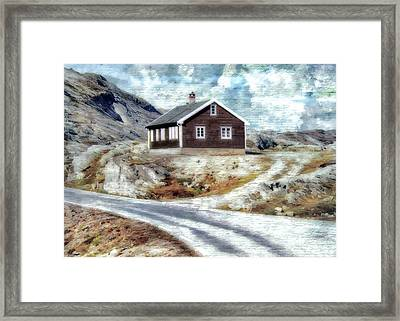 Mountain Home Framed Print