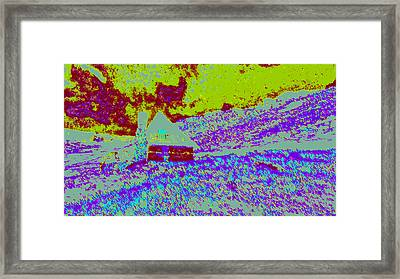 Mountain House D4 Framed Print by Modified Image