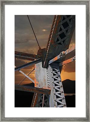 Mountain Iron Framed Print