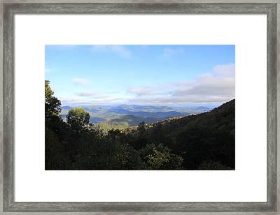 Mountain Landscape 1 Framed Print