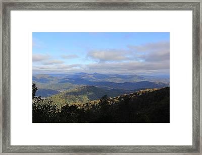 Mountain Landscape 2 Framed Print