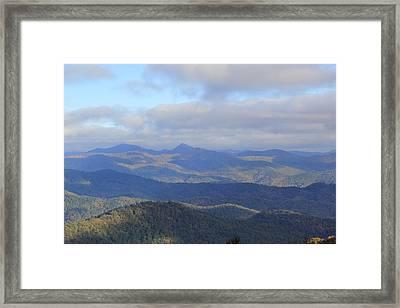 Mountain Landscape 3 Framed Print