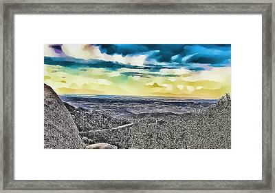 Mountain Landscape 7 Framed Print