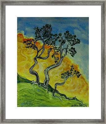 Mountain Laurel Framed Print