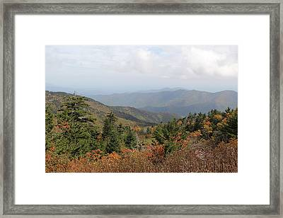 Mountain Long View Framed Print