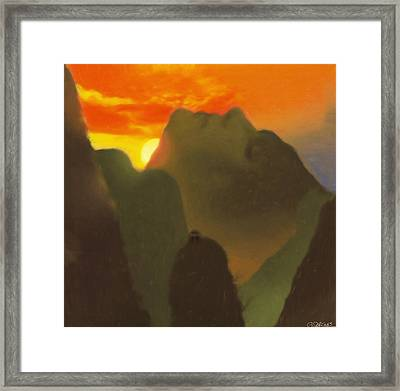 Mountain Magic Framed Print
