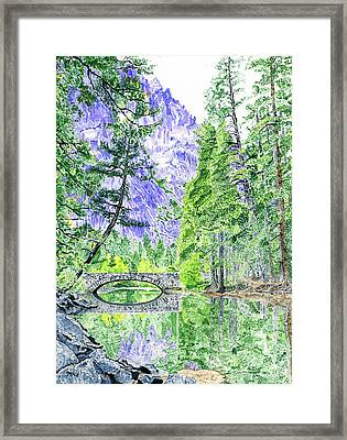 Mountain Majesty Framed Print by Marc Berkow