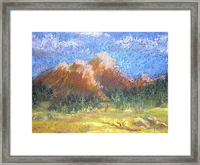 Mountain Meadow 2 Framed Print by Curt Peifley
