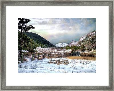 Mountain Meadow Framed Print by Jim Hill