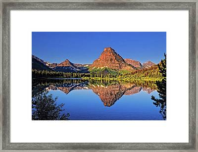Mountain Medicine Framed Print by Philip Kuntz, NW Visions