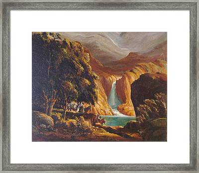 Mountain Men Framed Print