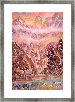 Mountain Mist Framed Print